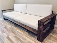 Rustic Couch - Distressed Wood Sofa Burbank, 91506
