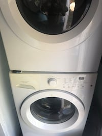 white front-load clothes washer Deer Park, 11729