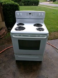 white and black electric coil range oven Memphis, 38122
