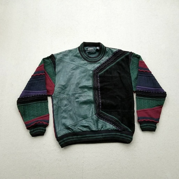 Used 80s 90s Cosby Biggie Smalls Coogie Like Sweater For Sale In