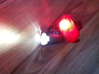 Rechargeable front and rear bike lights  Victoria, V9A 2Z2