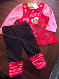 Elmo 12 month outfit. NWOT Woodbridge, 22192
