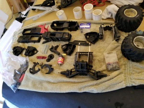 1987 to 1992 kyosho rc monster truck parts