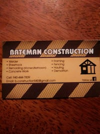 everything listed on the business card and more Wichita Falls