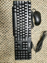 Dell keyboard and mouse.