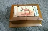 Camel open tray jewelry box Marinette, 54143