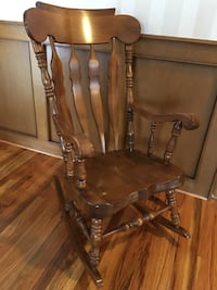 Solid Wood Rocking Chair Calgary