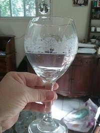 Christmas wine goblet  Youngstown, 44511