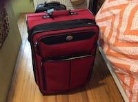 American tourister.   Holds 40lbs