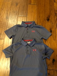 Under Armor. Boys Polo Shirts. Size Medium (8). Like New. Asking $8/each.  Harker Heights, 76548