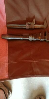 2 ANTIQUE PIPE WRENCHES Lake Elsinore, 92530