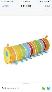 Melissa and doug sunny patch tunnel. Brand new never used Vaughan, L4H 0J6