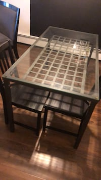 Two chairs and table pick up only Abbotsford, V2T 2G9