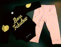 """Born Fabulous"" Outfit (0-3 Months); Brand New  Bradford West Gwillimbury, L3Z 2A5"