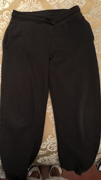 H&M Youth Black Track Pants (size 11-12)