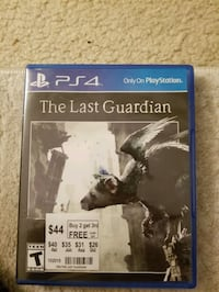 The Last Guardian Ps4 Arlington, 22204
