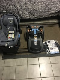 Uppababy Mesa Henry infant carseat- includes 2 car bases, travel bag