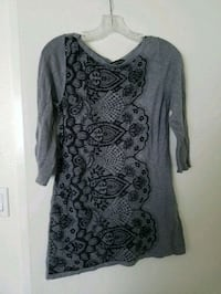 Gray tunic top Westminster, 92683