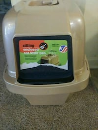 Sifting cat litter box and clumping cat litter Phenix City, 36867