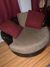Couch and Swivel chairs
