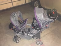 Sit and stand double stroller Sioux Falls, 57107