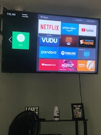 "60"" smart tv HISENSE BRAND- PICK UP ONLY COMES WITH WALLMOUNT NO STAND (bring somebody to help you) Camden, 08104"