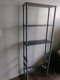 Tall shelf can be used for multiple things