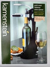 NIB Tabletop wine opener Bronx, 10463