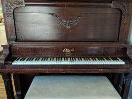 Packard Full-size Upright Piano w/ Bench Seat