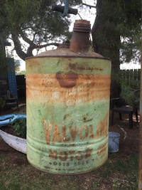 Antique Valvoline 5 Gallon Motor Oil Can - Very rare - original logo! Banning, 92220