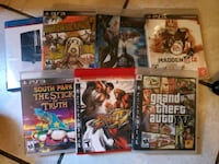 PS3 games(6/Six) Boulder City, 89005