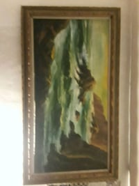 brown and black abstract painting Fresno, 93703