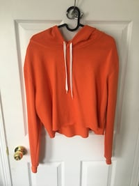 Orange Cropped Hoodie Mississauga, L5V