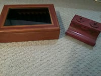 red and black wooden chest Greenacres, 33415