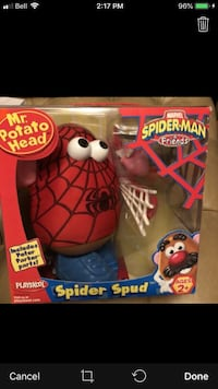 NEW Mr Potato Head Spider-Man Mississauga, L5E 3K5