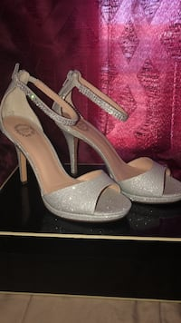 Silver bliss high heels New Bedford, 02744