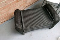 Wicker ottoman(negotiable) Arlington, 22203
