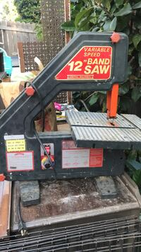 "12"" Band saw Santa Barbara, 93101"