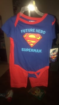 blue and red Superman crew-neck shirt Arcade, 95821