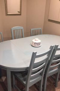 6 seat dining room set