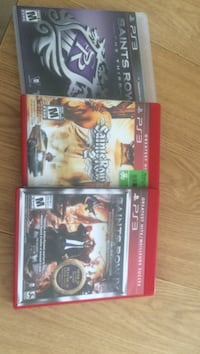 Three sony ps3 games Rocky View No. 44, T0M 0T0