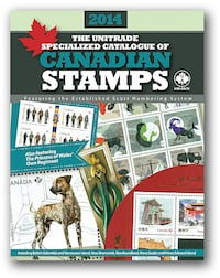 2014 Unitrade Specialized Catalogue of Canadian Stamps Mississauga, ON, Canada