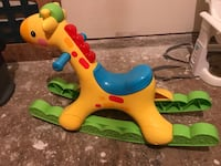 Baby riding horse Yellow and blue ride on toy Dickinson, 77539