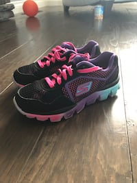 pair of black-and-pink Nike running shoes Abbotsford, V2S 8C9