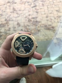 Rose Gold Fossil Sport Chronograph Watch Essex, 21221