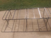 2- fold out metal single bed frames Oklahoma City, 73179