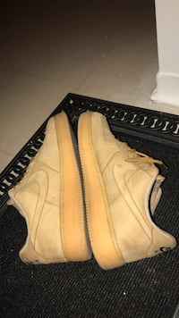 Low cut Wheat Air forces///size 13 Vaughan, L4K 5W4