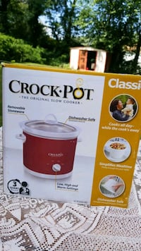 Crock Pot ( brand new ) never been used