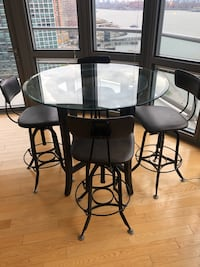 Dining Room set - restoration chairs and pottery barn table  New York, 11109