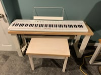 88 key Keyboard with homemade stand and bench West Deptford, 08063